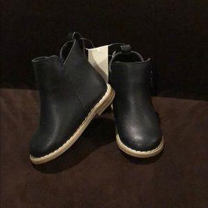 NWT Black Moto Boots